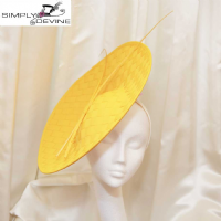 Edgy yellow disc hatinator LH19